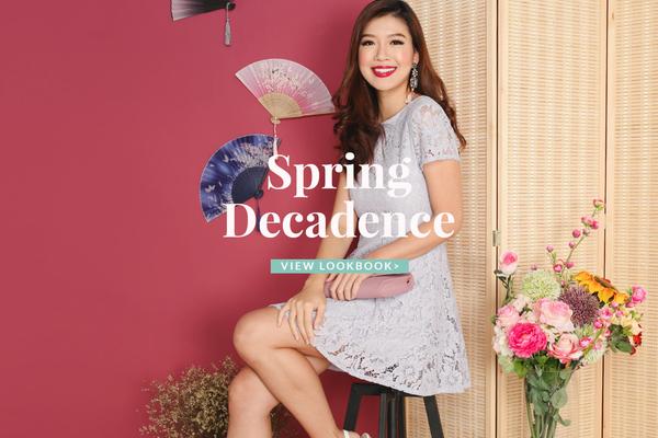 Spring Decadence CNY Lookbook