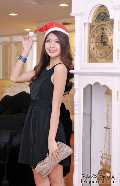 Parisian Beauty Dress in Black