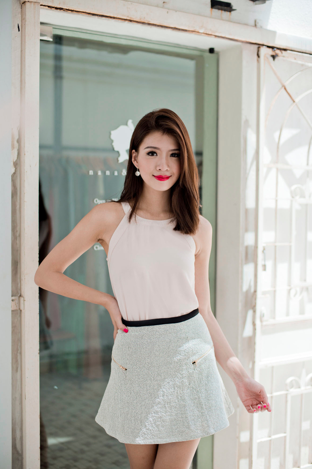 Dorothy Top in Pale Pink
