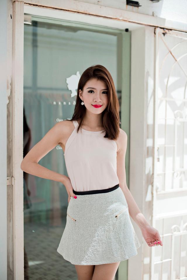 Georgia Tweed Skirt