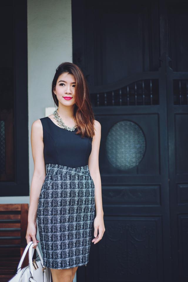 Jenna Dress in Black