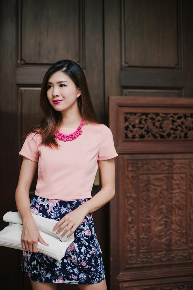 Vera Top in Pink