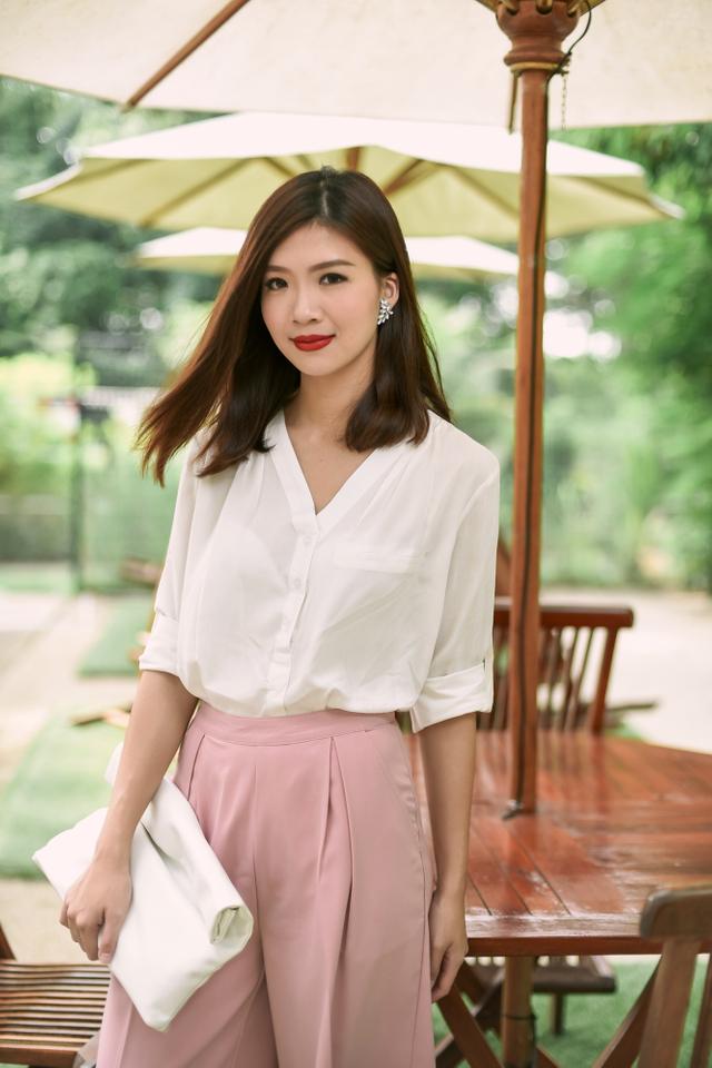 Kendra Shirt in White