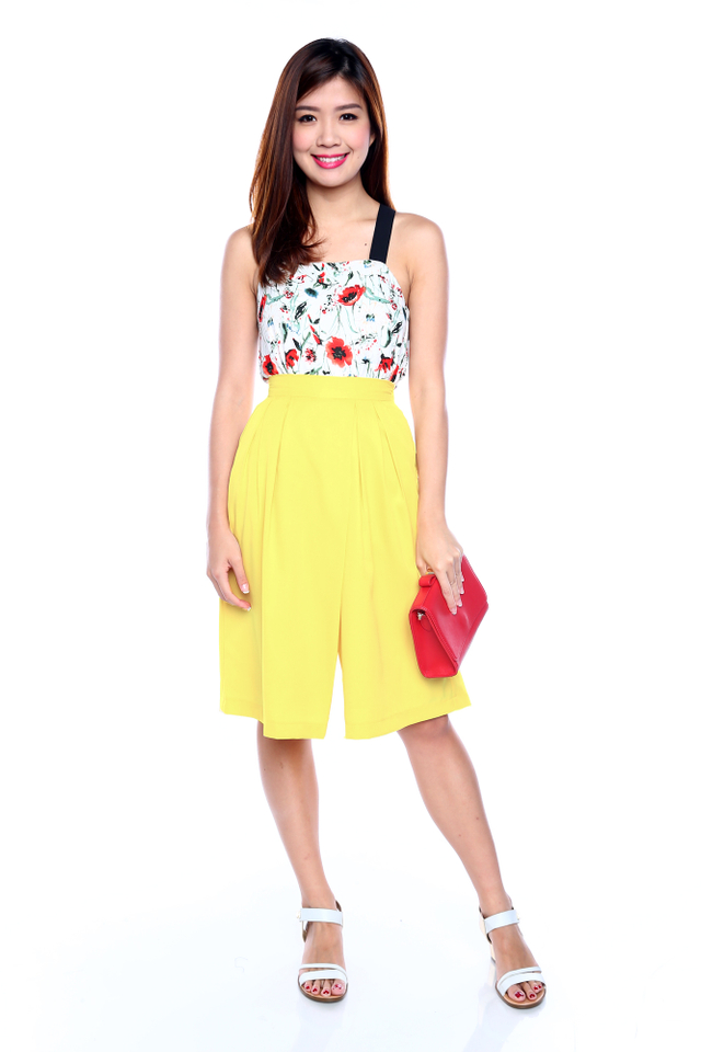 Jenelle Culottes in Yellow