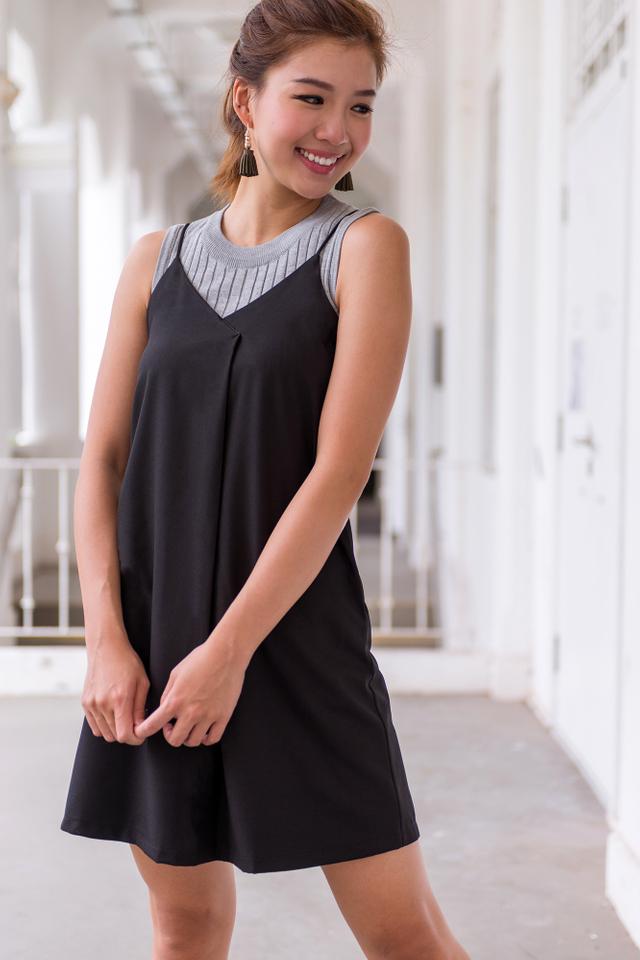 Zoe Knit Top in Grey