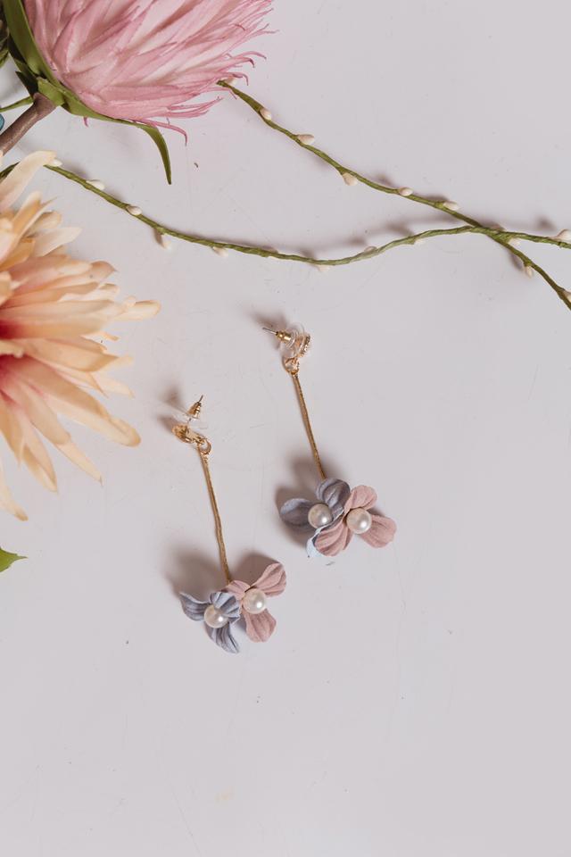 Twice the Blessings Pearl Earrings