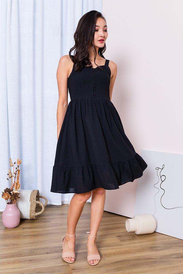Girl Next Door Dress in Black