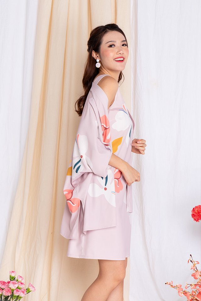 Harmony Sleeveless Dress in Lady Pink